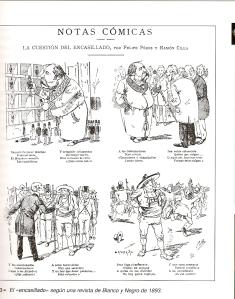 Caricatura electoral Restauración