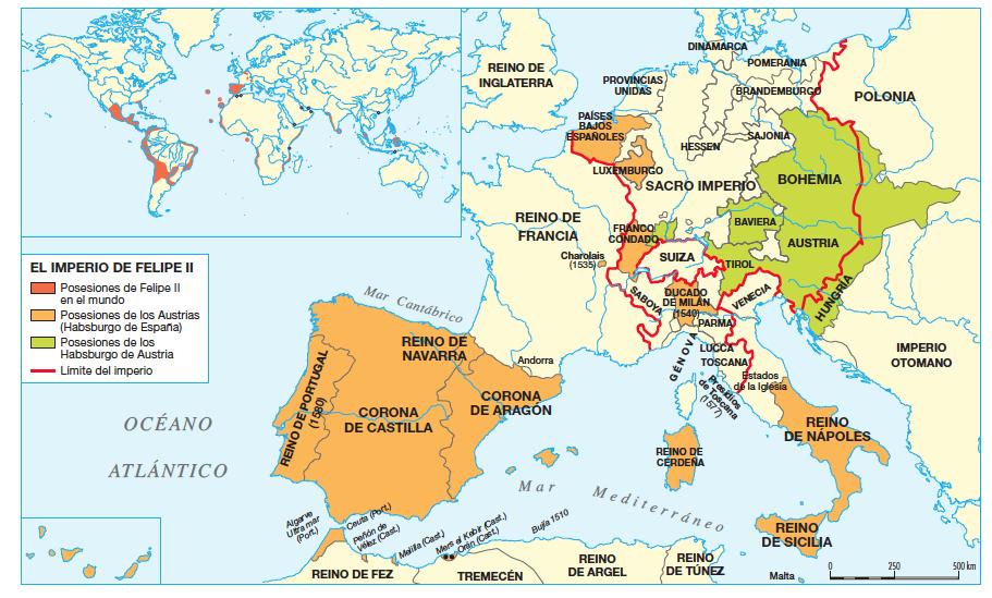 El imperio de felipe ii historia de espa a for La politica exterior de espana